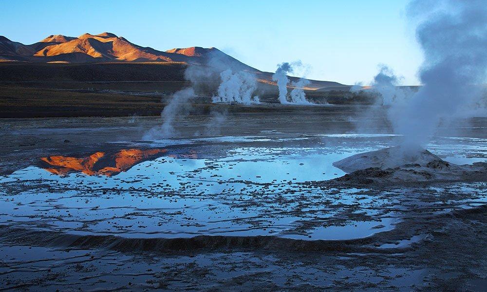 Desierto de Atacama Géiseres del Tatio