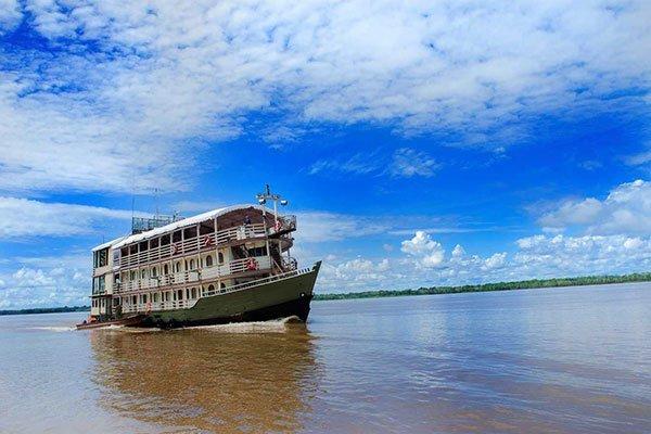 Crucero por el Amazonas con todo lujo de detalles